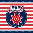 Baby shower — Stock Vector #31748275