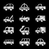 Design auta — Stock vektor