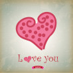 Love Heart — Wektor stockowy