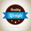 Lifestyle seal — Stockvectorbeeld
