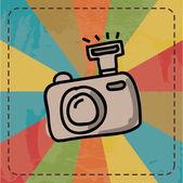 Conception d'une caméra — Vecteur