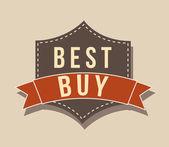 Best buy — Stock Vector