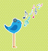 Bird — Vetorial Stock