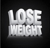 Lose weight — Vetorial Stock