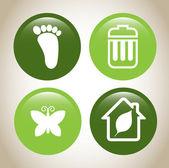 Salvare il pianeta — Vettoriale Stock