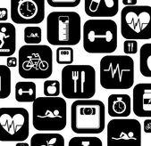 Zdrowe życie — Wektor stockowy