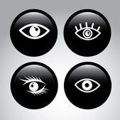 Eyes design — Stock Vector