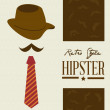 Hipster design — Stock Vector #31865065