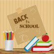Vettoriale Stock : Back to school