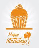 Grattis på födelsedagen design — Stockvektor