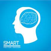 Smart — Stock Vector