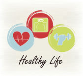 Healthy life — Stock Vector
