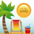 Summer design — Stock Vector