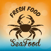 Sea food — Vetorial Stock