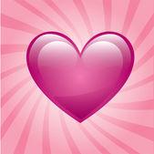 Love heart — Stock Vector