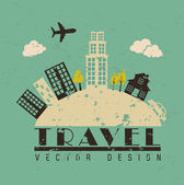 Travel — Vector de stock