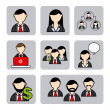 Business people — Stock Vector #32282391