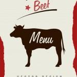 Beef — Stock Vector