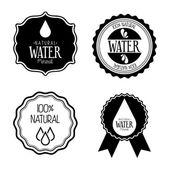 Agua natural — Vector de stock