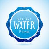 природная вода — Cтоковый вектор