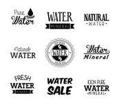 Přírodní voda — Stock vektor