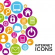 Internet icons — Stock Vector #32684095