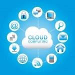 Cloud computing — Stock Vector #32685705
