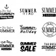 Summer design — Vector de stock