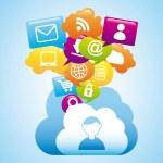 Cloud computing — Stock Vector #32686337