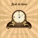 Clock design — Stock Vector #32688295