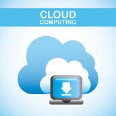 облачные вычисления — Cтоковый вектор