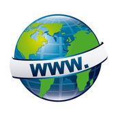 Internet icon — Wektor stockowy