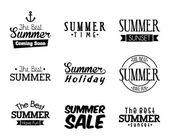 Sommer-design — Stockvektor