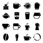 Coffee icons — Stock Vector #32856849