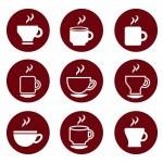 Coffee icons — Stock Vector #32856861