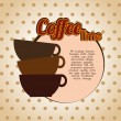 Coffee time — Stock Vector #32857143