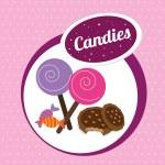 Candies — Stock Vector #32857159