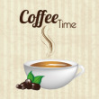 Coffee time  — Image vectorielle
