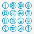 Healthy icons — Stock Vector #32931277