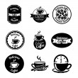 Coffee icons — Stock Vector #32931609