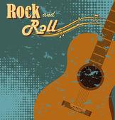 Rock ontwerp — Stockvector