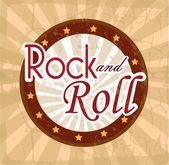 Rock design — Stock Vector