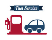 Fuel service — Stock Vector