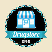 Drugstore — Stock Vector