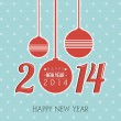 happy new year 2014 — Stock Vector #33184451