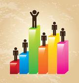 Success design — Stock Vector