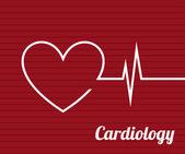 Cardiology — Stock Vector