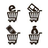 E-commerce — Stock Vector