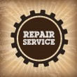 Repair service — Stock Vector