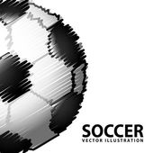 Soccer design — Stock Vector